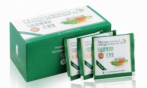 养生保健佳品 太阳神马齿苋辣木叶代用茶上市