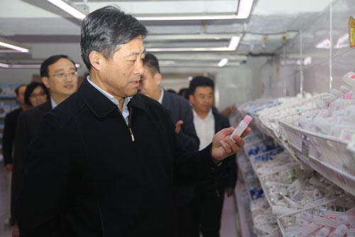 江苏省旅游局、常熟市委领导莅临隆力奇考察