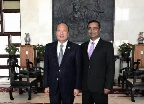 共话未来印度直销协会首席法律顾问到访天狮