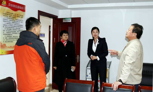 青岛南区政协主席莅临完美青岛分公司调研