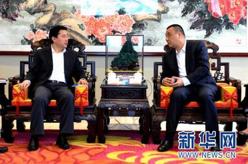 四川省广安市市长罗增斌率队考察康美药业