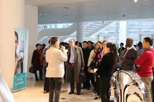 创新健康观 全球健康促进大会代表走进如新
