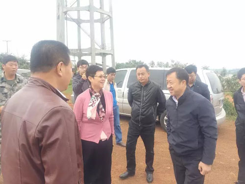 海南省发改委领导莅临荟生金芦荟现代产业园