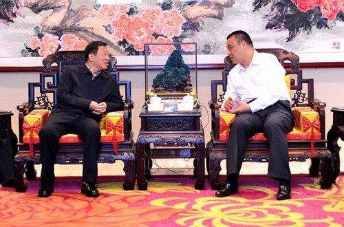 湖北咸宁市长王远鹤率队到康美药业参观考察
