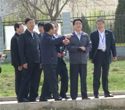 甘肃省委书记林铎到天士力中天药业进行调研