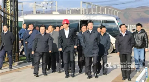 吉林省委常委庄严调研安发长白山生物科技园