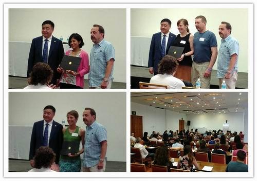 安惠公司董事长陈惠出席北美经销商表彰活动