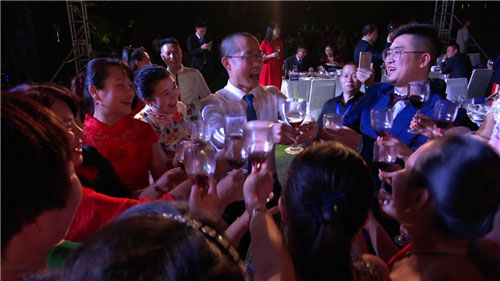 康尔鼎品2018年度领袖峰会暨答谢晚宴开幕