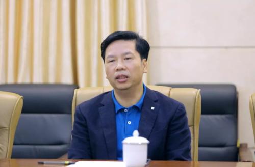 黄江镇领导慰问太阳神:观大局 看大势 做大事